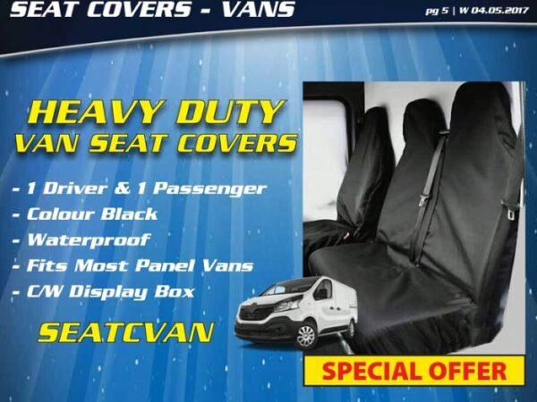 Heavy duty seat covers